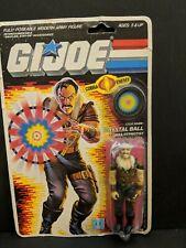 GI JOE CRYSTAL BALL Vintage Action Figure 99/% COMPLETE 3 3//4 C9 v1 1987