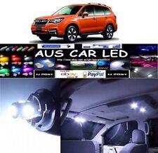 Subaru Forester 13-15 Wagon White LED Interior globe bulb upgrade kit (8pcs)