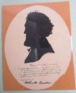 Silhouette of Wharton Barker Populist Presidential Candidate By Kate P. Parker