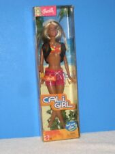 Barbie Cali Girl 2003 NRFB MIB With Surf Story on Back Plus Top is UP