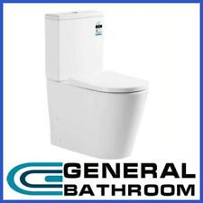 Rimless Soft Close Seat  Back To Wall Ceramic Toilet Suite