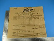 Harvard Brewing Letterhead Invoice 1936 Beer  Brewery Lowell MA S3435