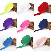 """1m,  5/8""""(16MM) Soft Shiny FOE fold over elastic Ribbon baby hair band headband"""