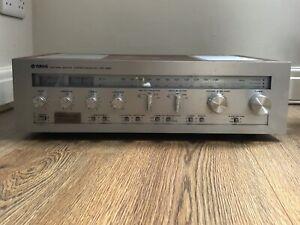 Vintage 1970s Brushed Steel Yamaha CR-820 Receiver / Amplifier