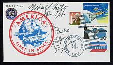 STS-29 NASA Crew signed autograph cover Coats, Blaha, Springer, Buchli & Bagian