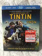 The Adventures of Tintin - Bluray - Canadian 2012