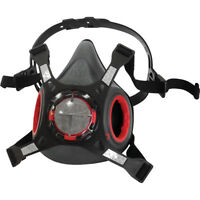 Halbmaske Atemschutzmaske Force8™ Atemschutz EN140 JSP OHNE FILTER NEU TOP