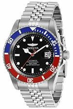 Invicta 29176 Automatic 42mm Men's Black, Red and Blue Stainless Steel Watch