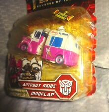 HASBRO TRANSFORMERS AUTOBOT SKIDS & MUDFLAP ICE CREAM TRUCK DELUXE CLASS (NEW)