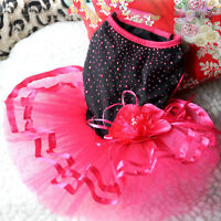 KM_ HN- Pet Dog Puppy Dress Skirt Princess Clothes Apparel Clothes Apparel Mys