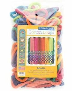 """7"""" Loom Potholder Cotton Loops Weaving Crafts for Kids Adults Traditional Size"""