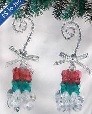 Sunrise LITTLE CHRISTMAS TREES 24 Beaded Ornaments Kit ~ New