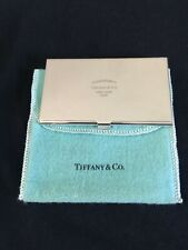 Tiffany Amp Co Return To 925 Spain Sterling Silver Business Card Case Holder