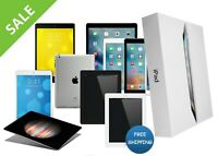 Apple iPad 2,3,4,Air 1/2,mini 1/2/3/4 16GB/32GB/64GB/128GB Free 1-Year Warranty