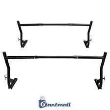 G-Mall: 2-Bar Adjustable Truck Ladder Rack Pick Up Lumber Utility 500LBS