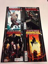 Ultimate Hawkeye #1 October 2011 - #4 January 2012 Jonathan Hickman