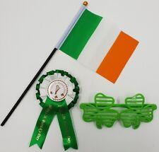 St Patricks Day Irish Green White Orange Fancy Dress Feather Boas 200CM Long
