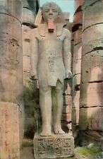 Egyptian Statue Post Card