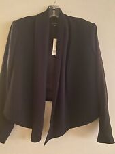 Theory Bennira Black Cropped Blazer Jacket 10 Nwt
