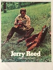 Jerry Reed 1970 Promo Poster RCA Records Country Music Guitar.