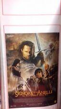 Il Signore degli Anelli - Il Ritorno del Re (2003) locandina 33x70 cm Prima Ed.