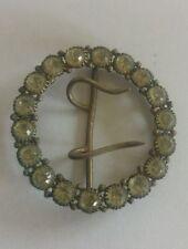 Rhinestone Brooch/Pin Art Deco Costume Jewellery