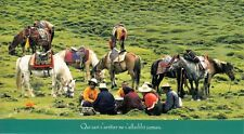 "Carte postale grande 11x20 cm coll ""comme un voyage"" CHINE CHINA TIBET KHAMPA"