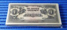 100X Malaya Japanese Occupation Money $1 One Dollar Banknote ( Genuine JIM Note)