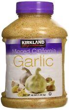 Kirkland Signature Minced California Garlic 1.36Kg (48 OZ) Made in USA