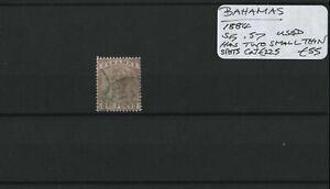 Bahamas 1884 SG.57 Used