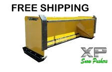 8 Xp30 Cat Yellow Snow Pusher Pullback Barampfront Shoes Skid Steer Free Shipping