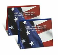 2020 P&D US Mint Uncirculated coin set (Pre-Sale - coins available on 11/30)