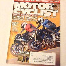 Motor Cyclist Magazine Benelli TNT R160 Ducati 848 January 2012 061517nonrh