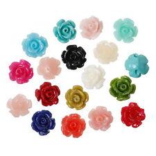 50 Mixte Perles Corail synthétique Fleur Bijoux Loisir Créatif 9x8mm