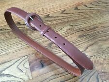 Vtg POLO RALPH LAUREN sportsman rustic belt 32 brown 2228510 210