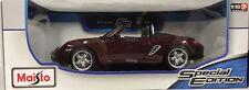 Maisto Porsche Boxter S Model Car Die Cast Model Car 1:18 Scale Diecast