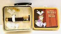 Disney Beauty & The Beast Lunch Box Series Leather Watch Limited Edition #2263