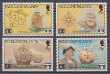 Falklandinseln (Falkland Islands) - Nr. 548-551 postfrisch/** (Schiffe / Ship)