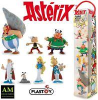 PLASTOY - ASTERIX BATTLE THE GALLIC - THE VILLAGE 7 FIGUREN SET - NEU/OVP