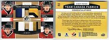 2013-14 SP GAME-USED PATCH EIGHT BRENDAN GALLAGHER HUBERDEAU DOUGIE HAMILTON 1/1