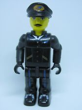 LEGO Minifig js019 @@ Airplane Pilot Black Cap with Logo - 4619 4620