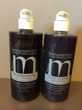 Shampooing 500 ml +soin repigmentant Mulato NOIR D'ANILINE reflets noirs 500 ml