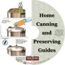 Home Canning & Self Sufficiency ~ Food Recipes Backwoods {80 How-to Books} DVD