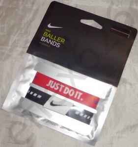 NWT Nike Baller Bands Reversible Wrist 2 Pack