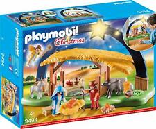 BNIB PLAYMOBIL 9494 CHRISTMAS Illuminating Nativity Manger NATIVITY SET