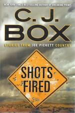 Shots Fired: Stories from Joe Pickett Country C.J. Box SIGNED First Edition