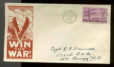 1944 WW2 PATRIOTIC SHERMAN  #10286 RED CLIFF PUBLISHER  WWII
