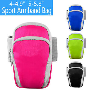 Run Sport Armband Pouch Case Zipper Bag for iPhone X XS XR Samsung S10 S9 LG HTC