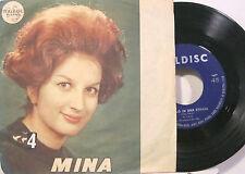 """MINA """"IL CIELO IN UNA STANZA"""" copertina promo  disco mint-"""