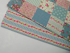 100% Cotton Fabric Fat Quarters - Bundle of 2 Fabrics